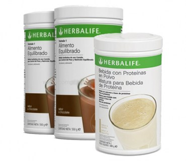 Pack Aumento Peso Herbalife