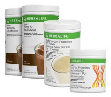 Pack Completo Aumento de Peso Herbalife